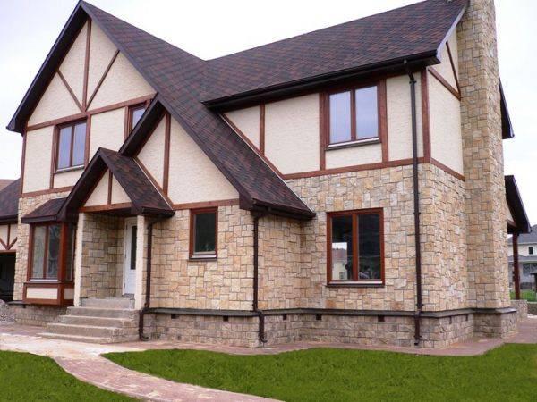 Фасадная декоративная штукатурка (51 фото): какие виды материала используются для наружных работ и отделки частного дома, характеристика смеси «короед» для фасада