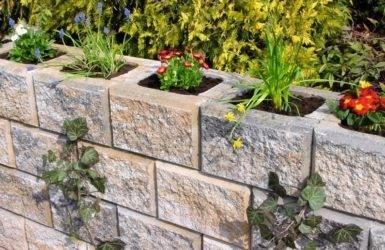 Подпорная стенка из бетона: из монолитного железобетона и бетонных блоков, технология изготовления своими руками и чертежи конструкции, расчет и устройство