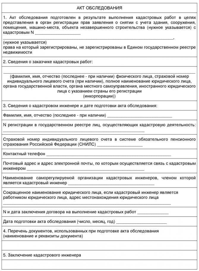 Снятие с кадастрового учета объекта недвижимости: основания, порядок снятия :: businessman.ru