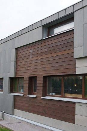 Вентилируемые фасады из керамогранита: преимущества, правила выбора и технология монтажа