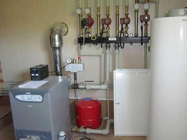 Схемы отопления частного дома с настенным котлом | всё об отоплении