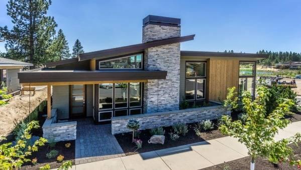 Односкатная крыша - 125 фото особенностей конструкции и ее особенности