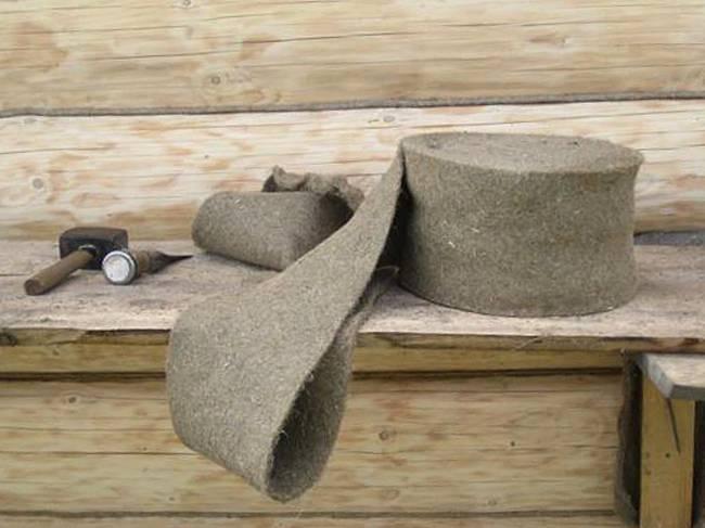 Как правильно делается конопатка дома из бруса