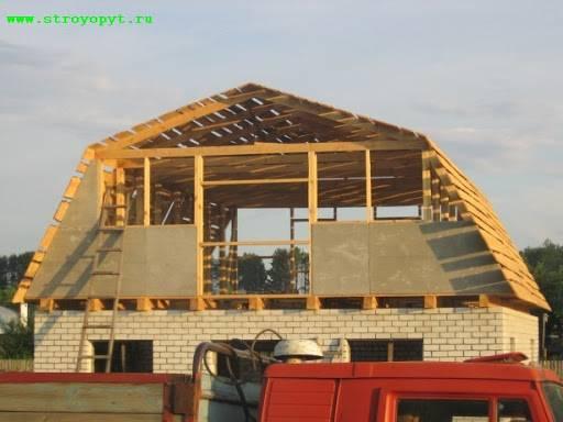 Как зашить фронтон деревянного дома своими руками — фото и видео обзор