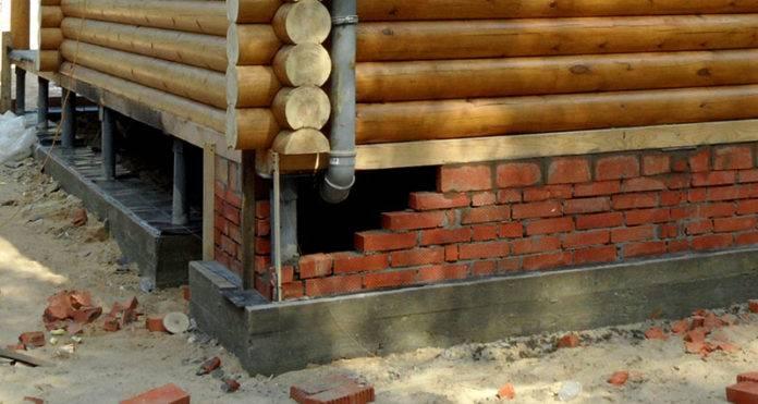 Как построить столбчатый фундамент из блоков 20-20-40 своими руками?