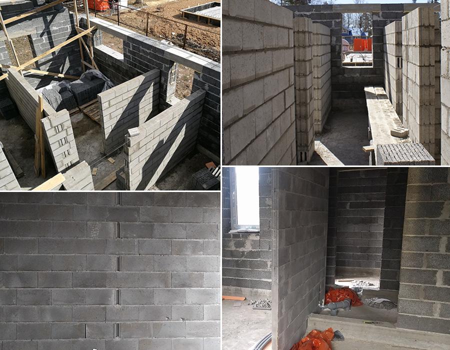 Строительство дома из керамических блоков: требования, правила, технология возведения