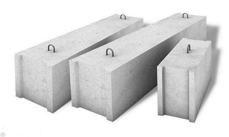 Блоки бетонные 400х200х200, вес и размеры