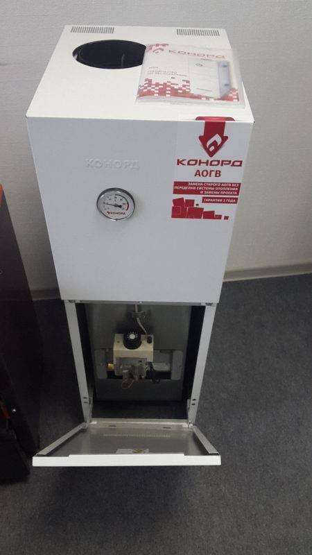 Газовый котел конорд напольный инструкция