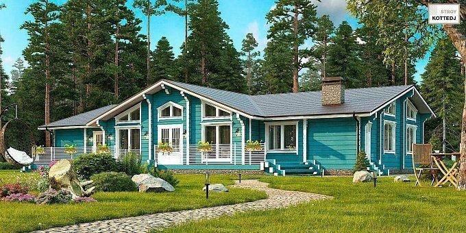 Садовые и дачные дома из клееного бруса: требования к материалу, технология возведения