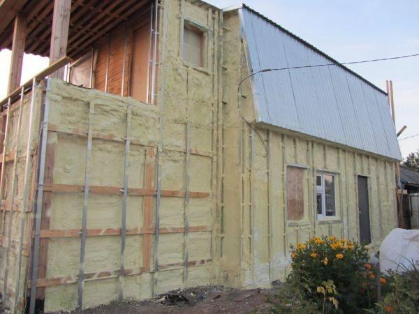Утепление дома снаружи минватой под сайдинг: отделка стен и фасада кирпичного и бревенчатого дома, плюсы и минусы минеральной ваты