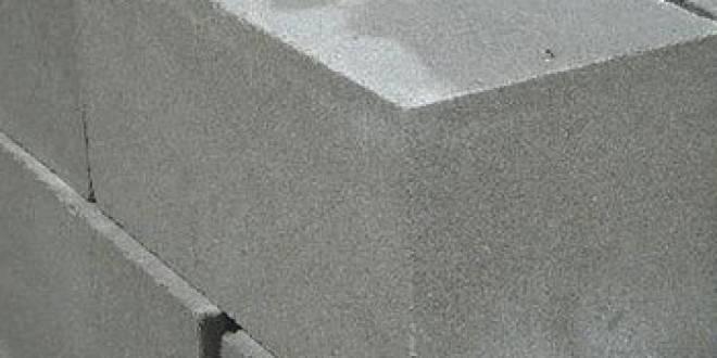 Размеры бетонные блоки 400х200х200