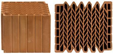 Керамический блок поризованный 14.3нф м-100 лср rauf