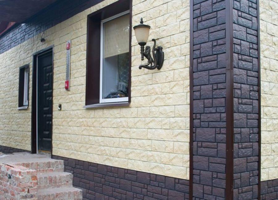 Панели фасадные под дерево для наружной отделки дома