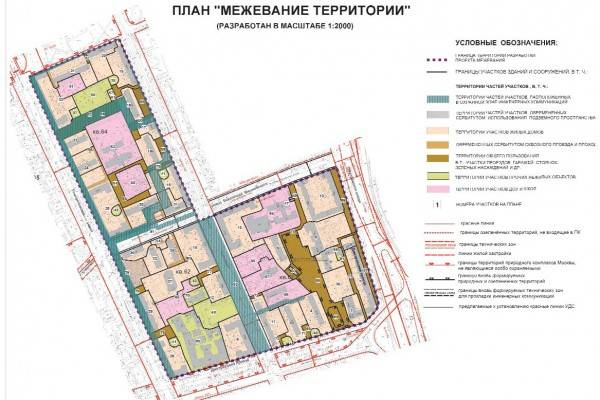 Проект планировки территории и проект межевания территории