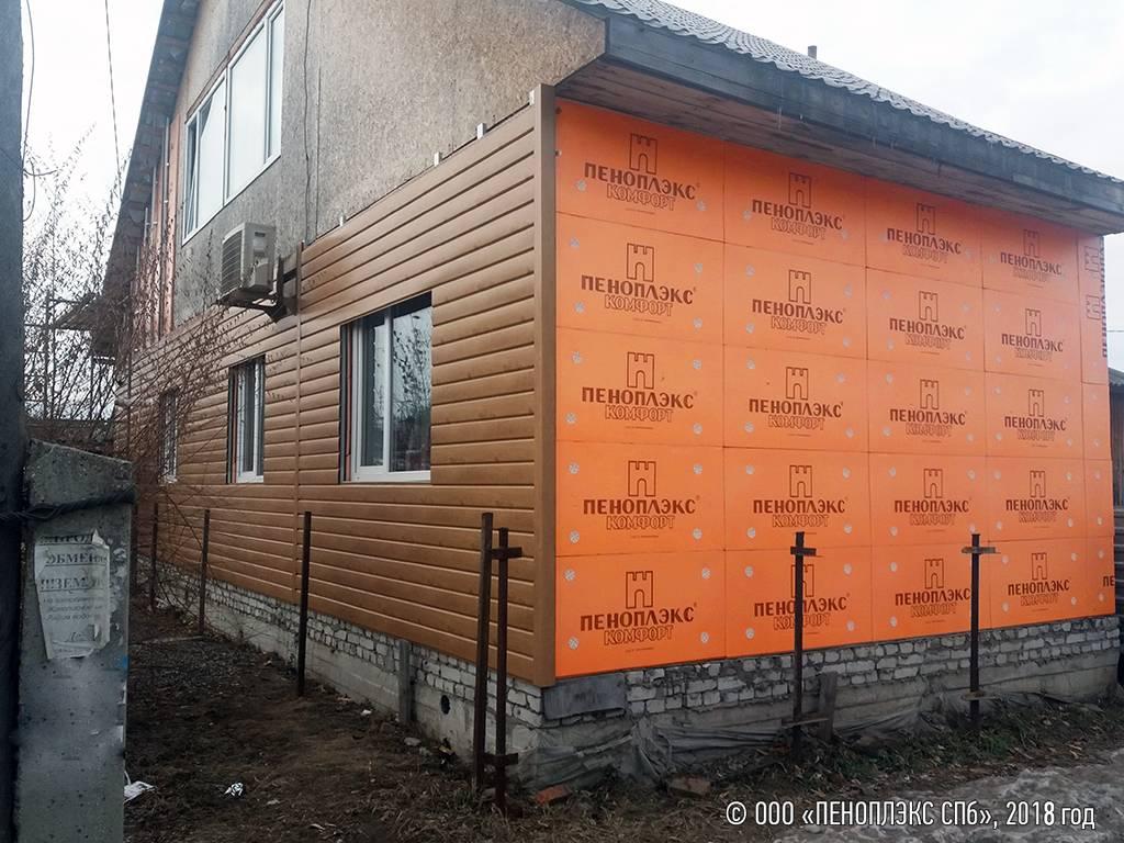 Утепление дома из газобетона: снаружи и изнутри, пеноплекс, минвата и пенополиуретан