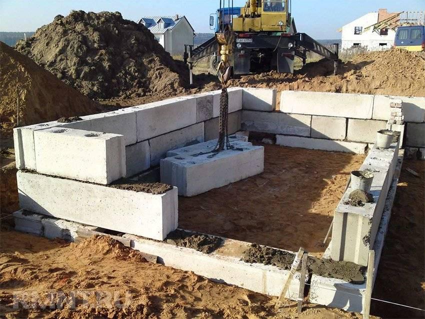 Как сделать подвал из бетона своими руками