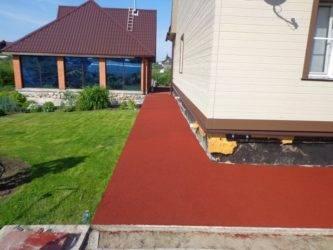 Резиновая тротуарная плитка. плюсы и минусы. сфера применения. особенности укладки