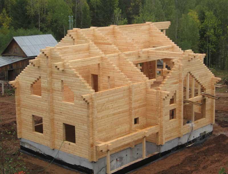 Домокомплект из бруса для самостоятельной сборки: строительство деревянного дома - 1drevo.ru