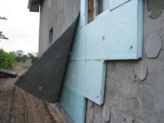 Утепление фасадов экструдированным пенополистиролом:нюансы+ошибки
