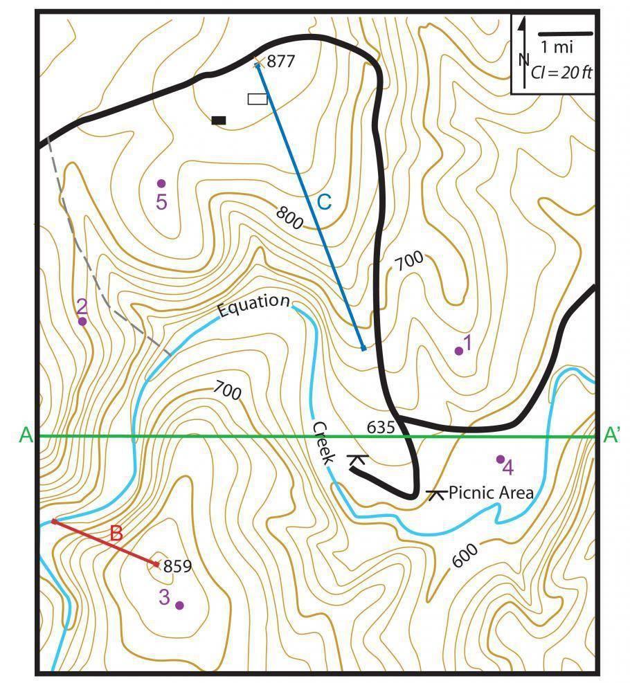 Чтение топографических карт. рельеф - планконспект