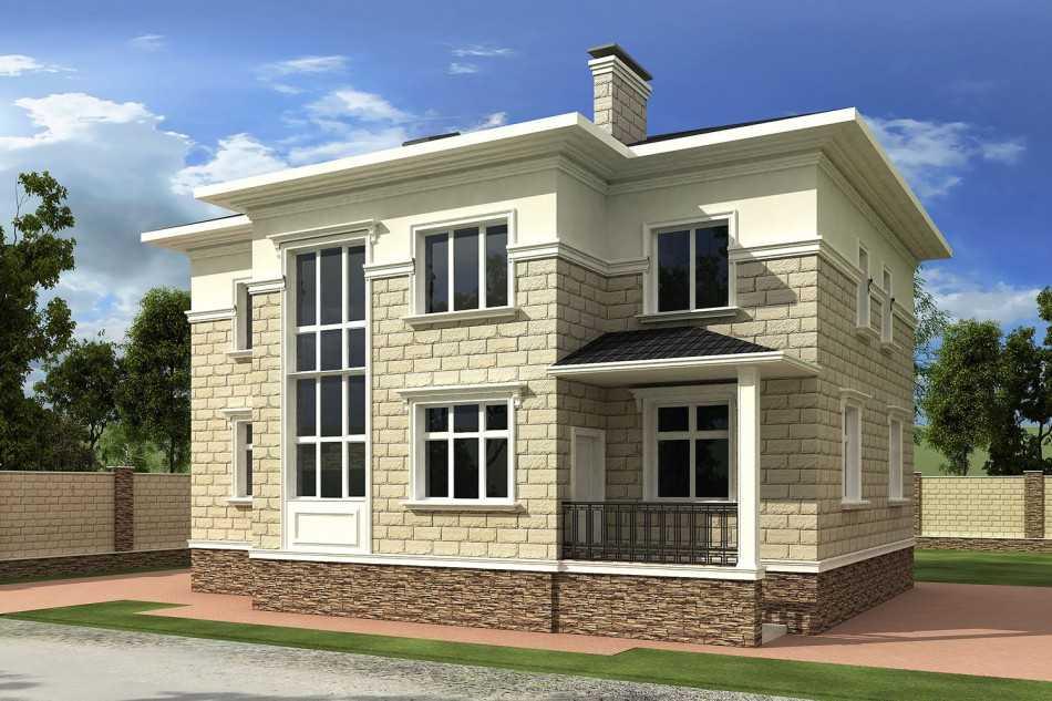 Современный дом из шлакоблока: плюсы и минусы подобного выбора