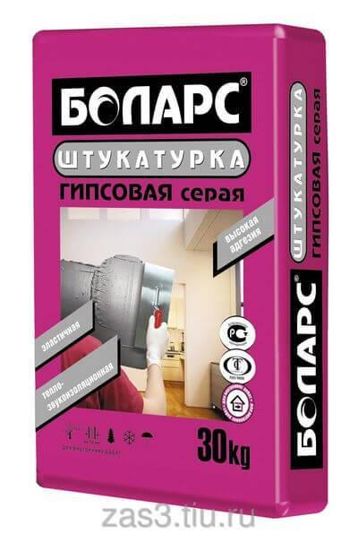 Штукатурка фасадная боларс 25 кг расход. технические характеристики фасадной штукатурки боларс и расход смеси