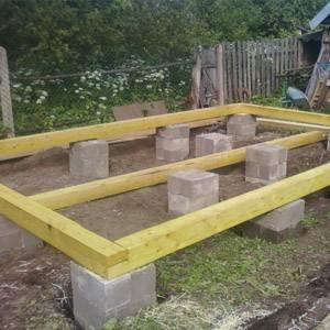 Фундамент из блоков 20х20х40: разновидности и сфера применения
