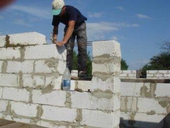 Кладка газобетонных блоков: пошаговая инструкция выполнения работ своими руками