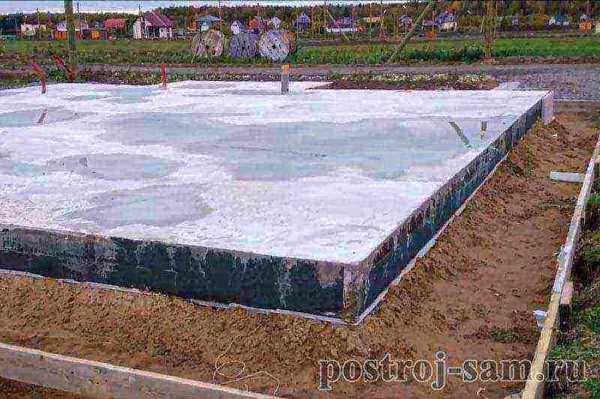 Монтаж столбчатого фундамента своими руками для каркасного дома