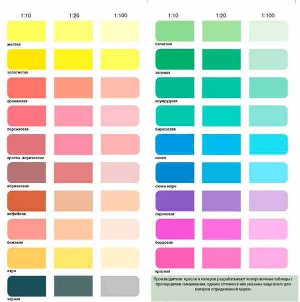 Колеровка краски своими руками: способы отделки интерьера при помощи красок