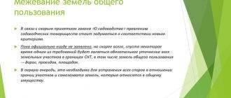 Межевание участка в снт: порядок проведения, документы 2020 год