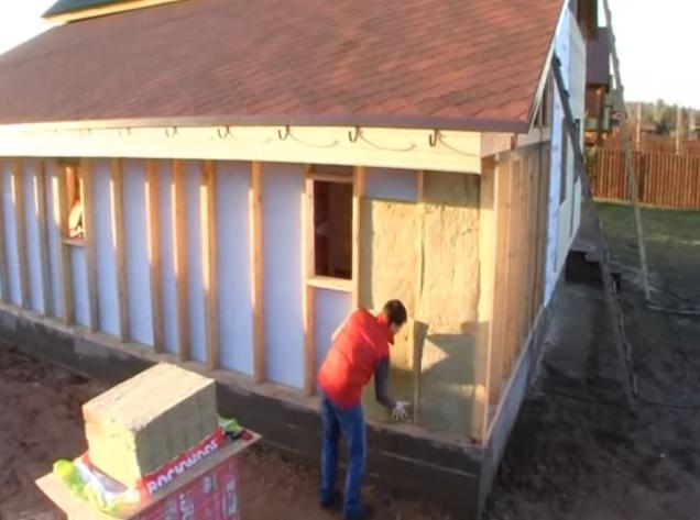 Утепление фасадов минеральной ватой: технология теплоизоляции дома базальтовой (каменной) минватой под сайдинг и штукатурку своими руками