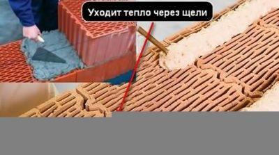 Преимущества и недостатки керамических блоков