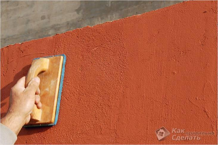 Штукатурка фасада дома: 3 основных принципа отделки штукатуркой с фото.