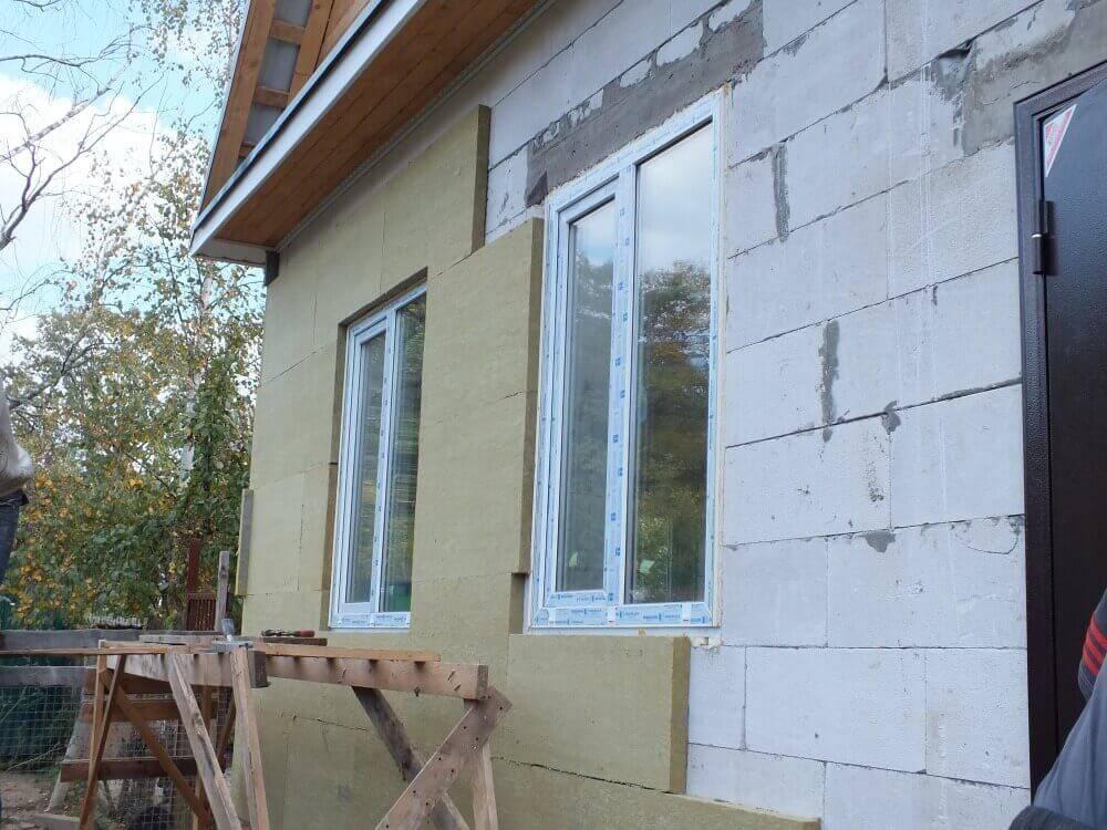 Утепление стен из газобетона снаружи: как сделать так, чтобы оно правильно работало
