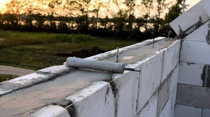 Армопояс на газобетоне: поэтапная инструкция по самостоятельному монтажу