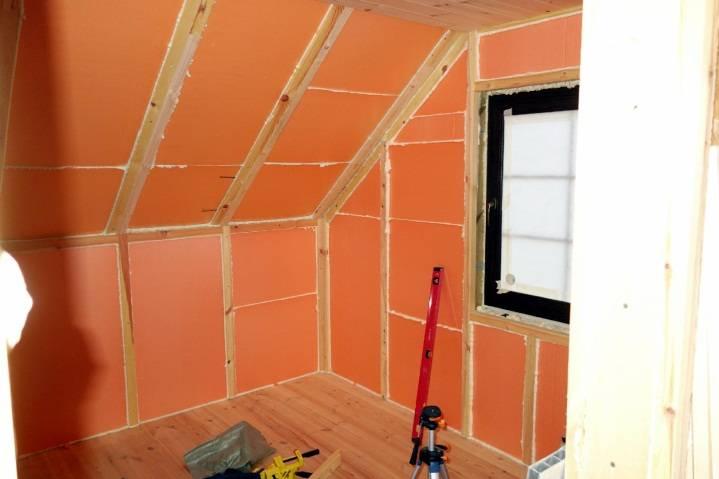 Пеноплекс внутри стен как современный способ теплоизоляции