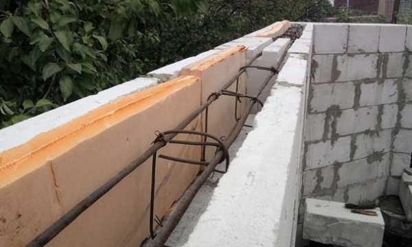 Армопояс под мауэрлат: нужен ли, крепление под крышу, из кирпича или монолитный делать, как крепить мауэрлат, размеры