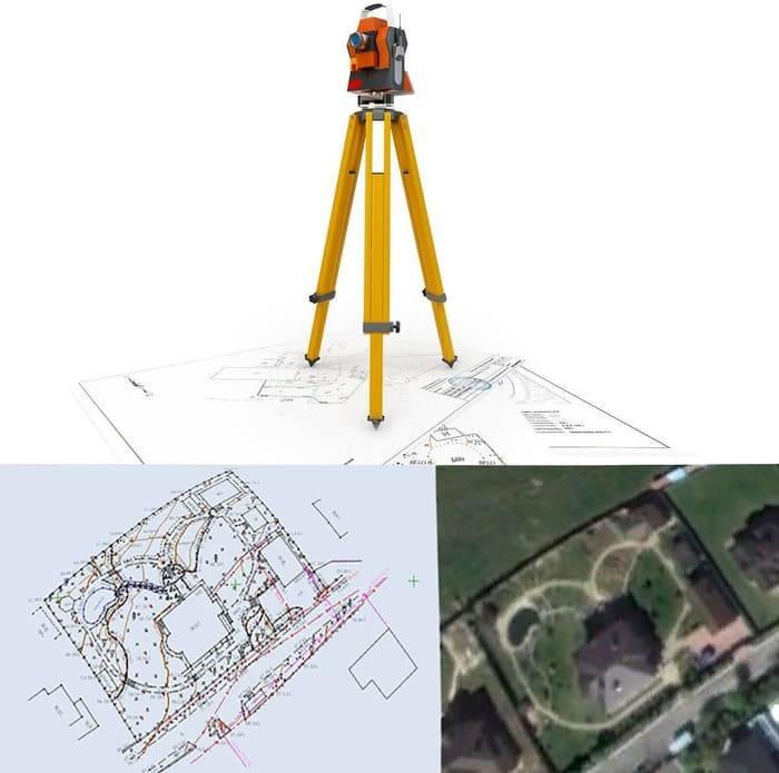 Топографическая съемка земельного участка: образец и стоимость работ