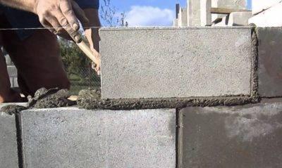 На какой раствор кладут пеноблоки? - о строительстве и ремонте простыми словами