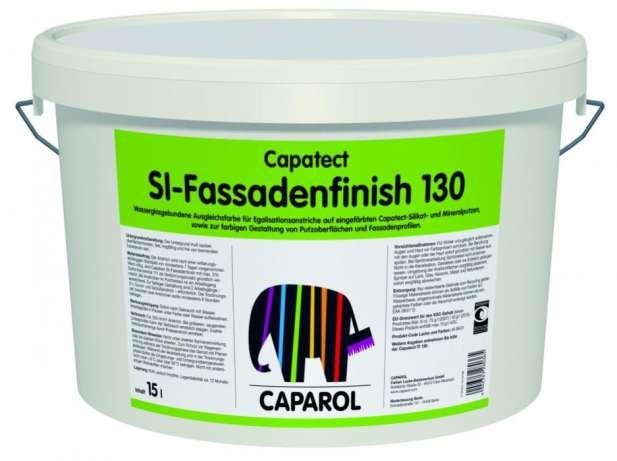 Применение фасадной штукатурки caparol