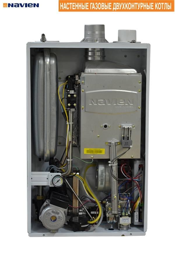 Что из себя представляет газовый двухконтурный котел Navien (Навьен) + технические характеристики и отзывы пользователей