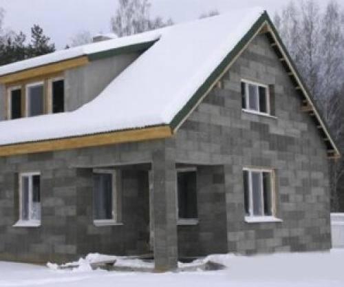 Как утеплить шлакоблочный дом: внутреннее и наружное   тепломонстр