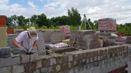 Все цены и затраты на строительство из шлакоблока, расчет количества в зависимости от размера