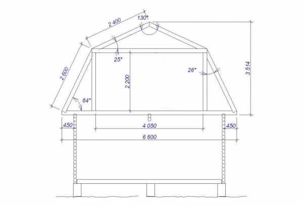 Мансардная крыша своими руками: чертежи стропильной системы, основы расчета, планировка, сборка