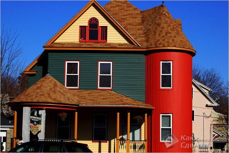 Как правильно покрасить фасад дома - отопление