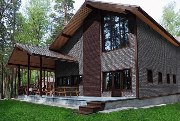 Фасадные панели для наружной отделки дома технониколь