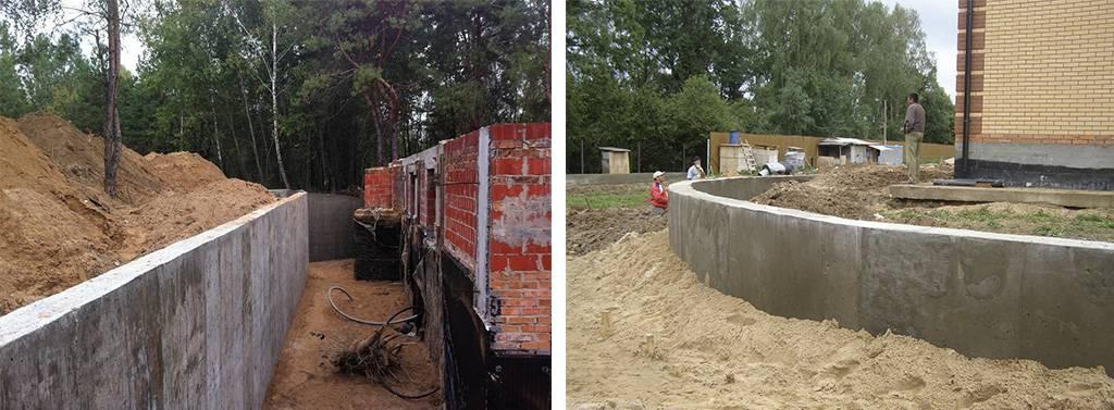 Строительство подпорной стенки: 110 фото лучших конструкций и видео описание их постройки