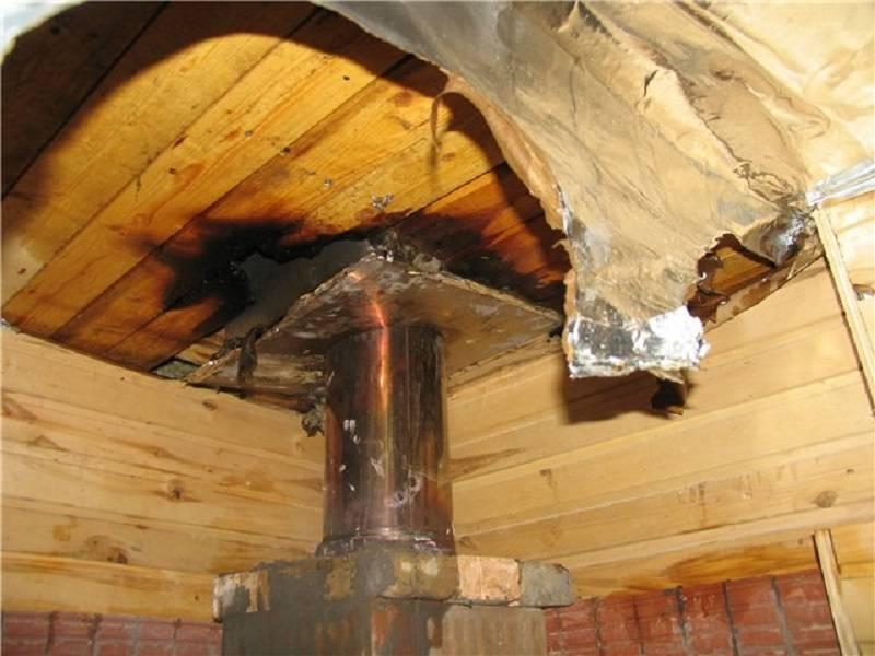 Проход трубы через крышу, как обустроить вывод и узел через профнастил, смотрите на фото и видео