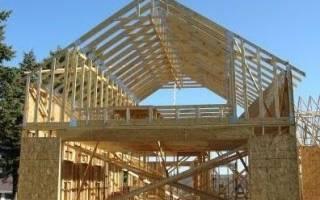 Стропильная система односкатной крыши своими руками — устройство и схемы (фото, видео)